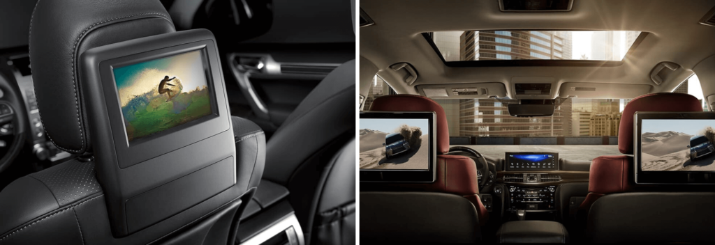 Rear Seat Entertainment in the Lexus GX and Lexus LX
