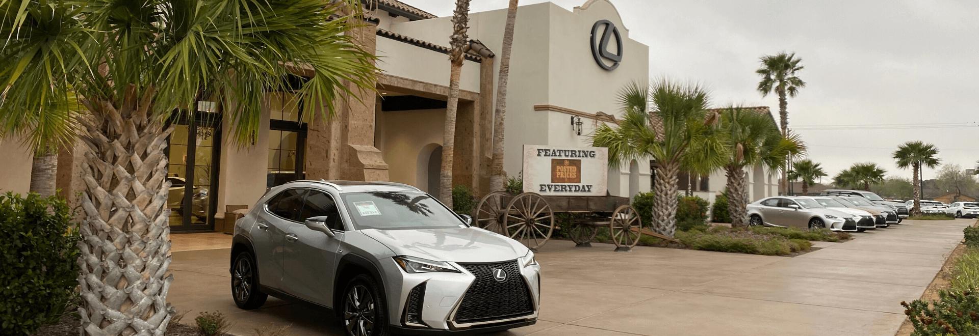 Lexus Delivery Service Rio Grande Valley