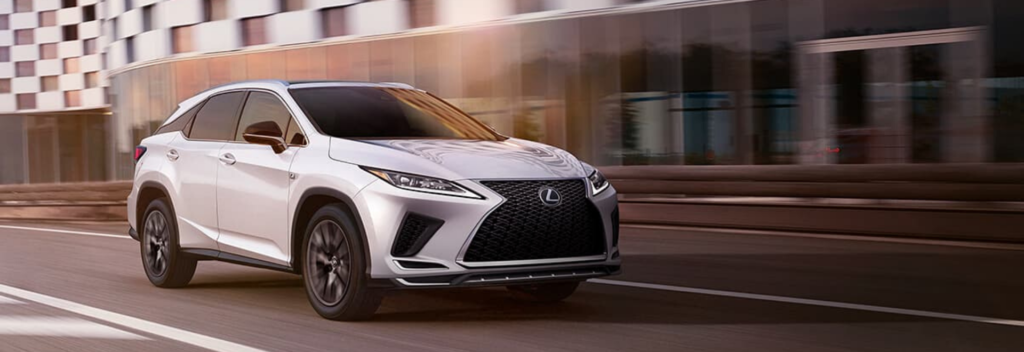 2020 Lexus RX with Android Auto