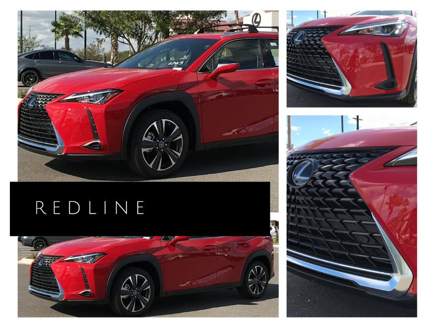 Lexus UX in Redline
