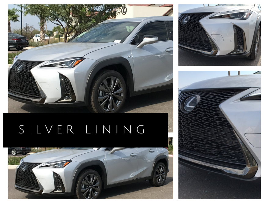 Silver Lining Lexus UX