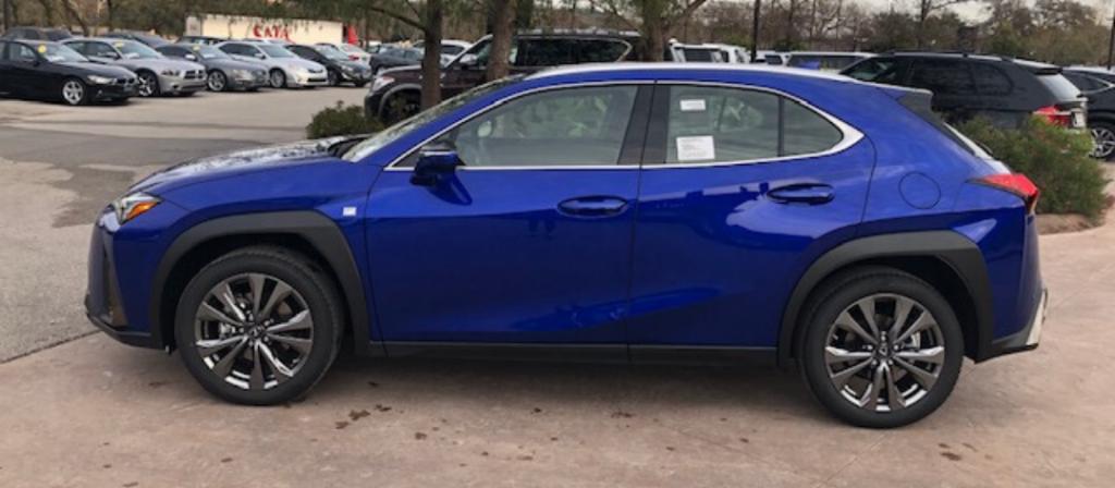 UltraSonic Blue Lexus UX F SPORT
