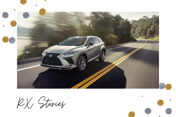 2020 Lexus RX Model Options
