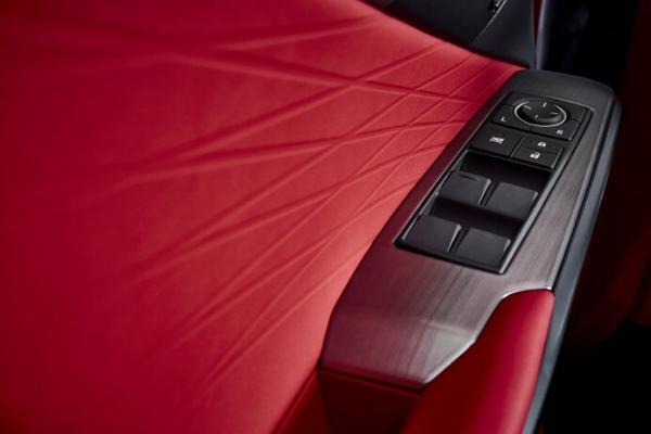 2021 Lexus IS F SPORT interior details
