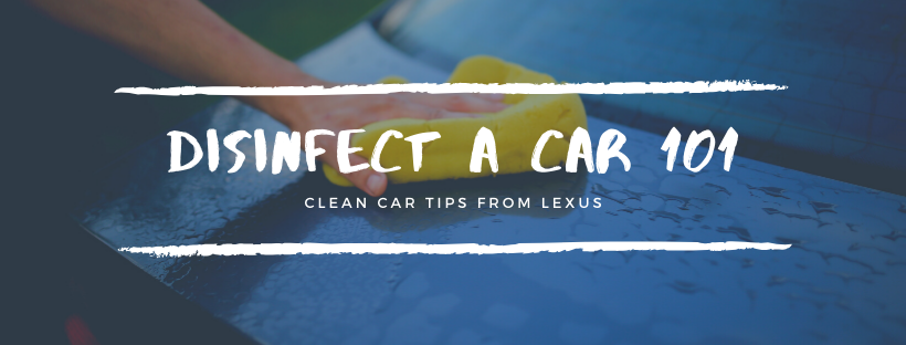 How to Disinfect a Car