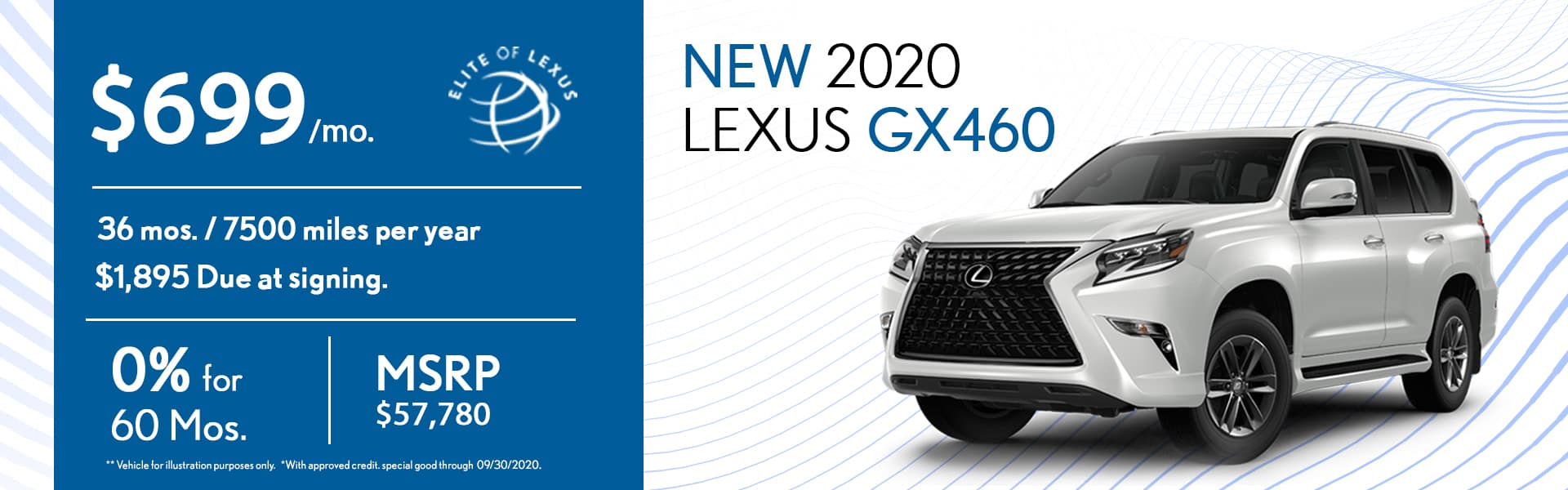 2020 Lexus GX460 special