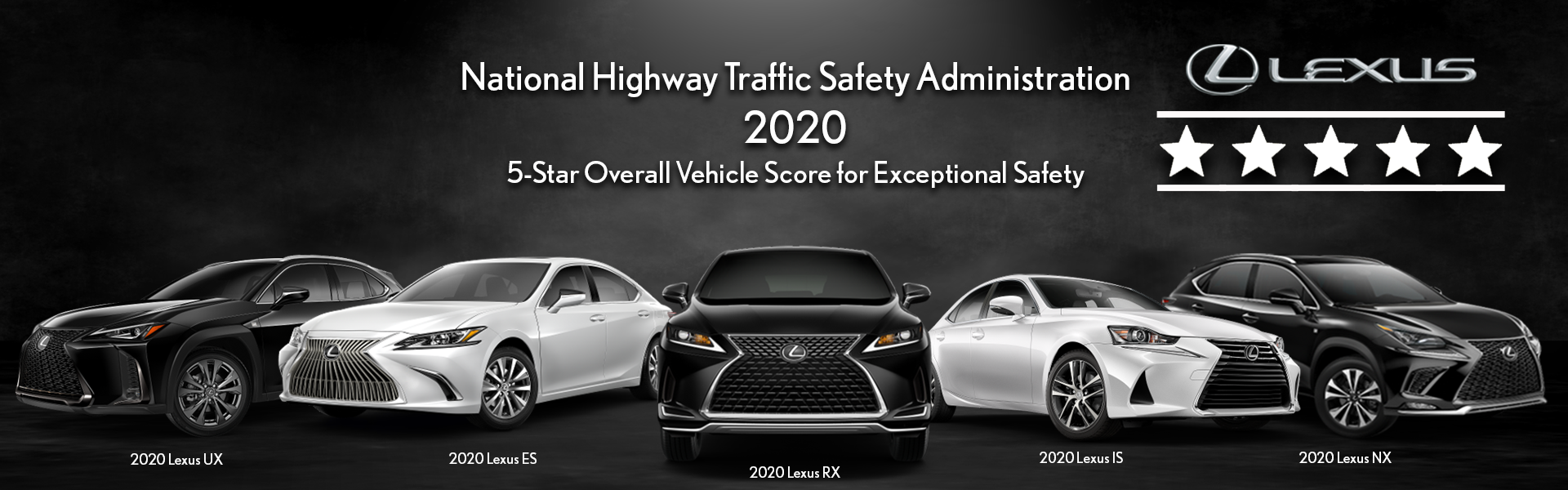 Lexus Five Star Safety Award