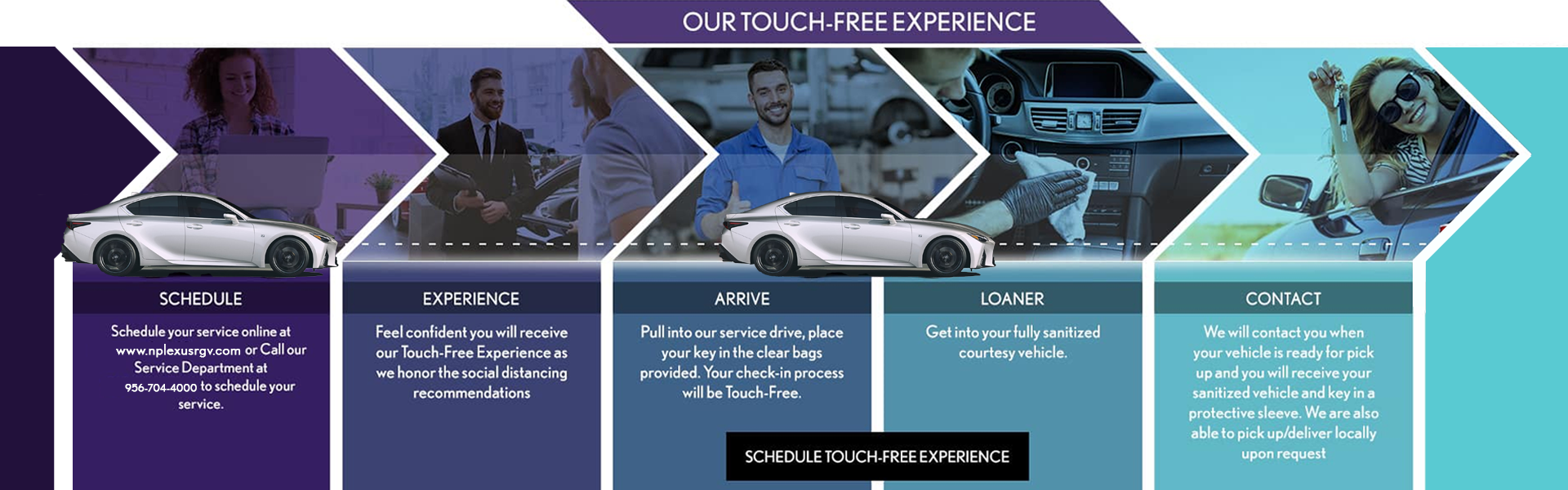 Our Touch Free Experience