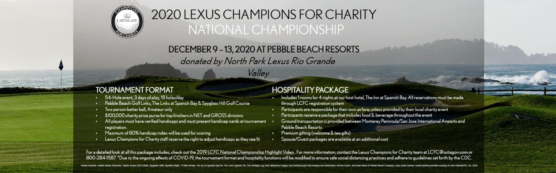 Lexus Championship Charity Raflle