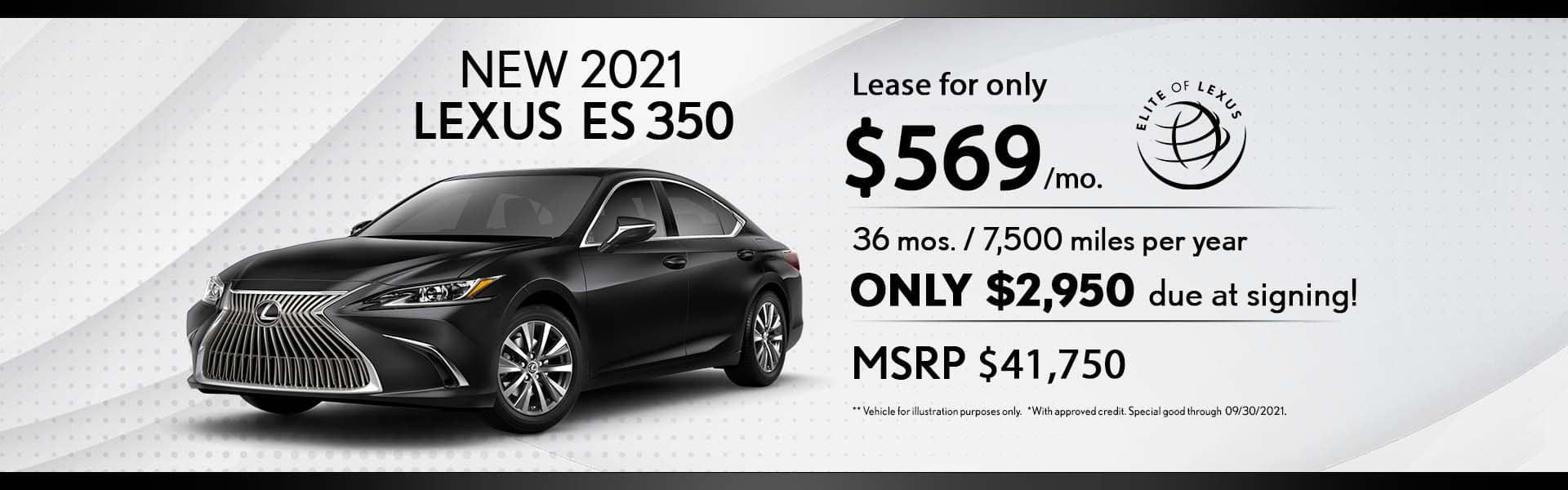 Lexus Lease special ES 350