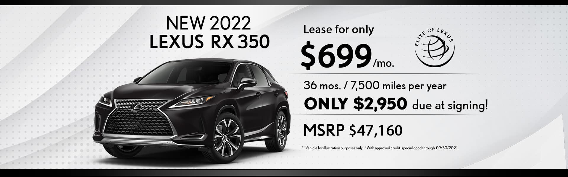 Lexus Lease special rx 350