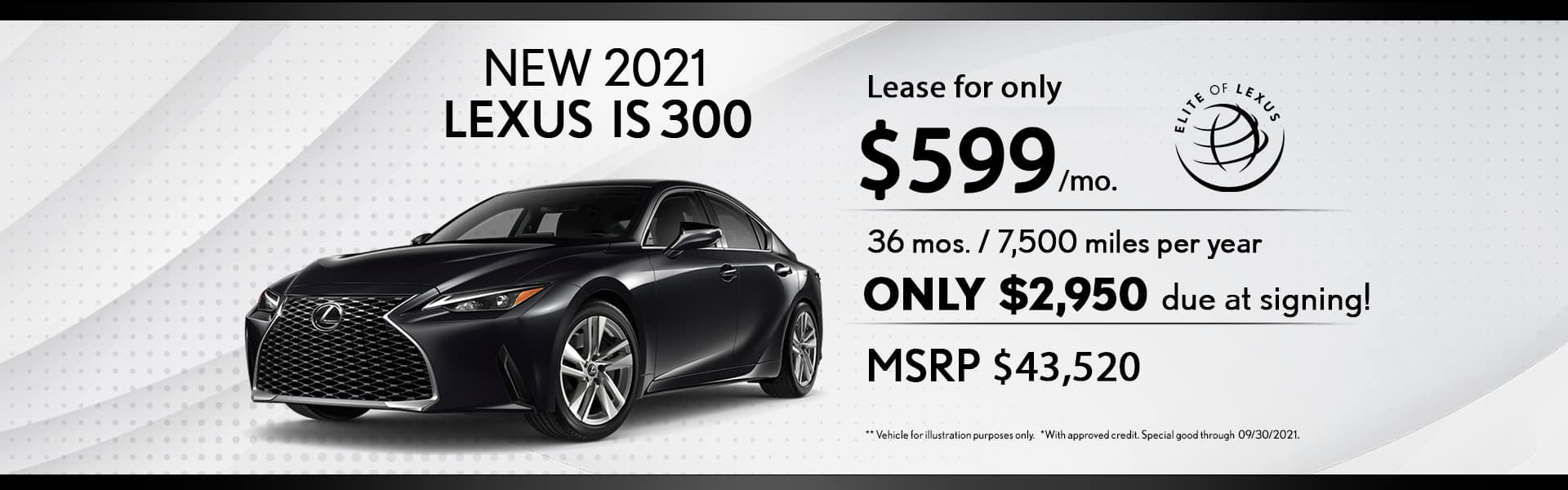 Lexus Lease special IS 300