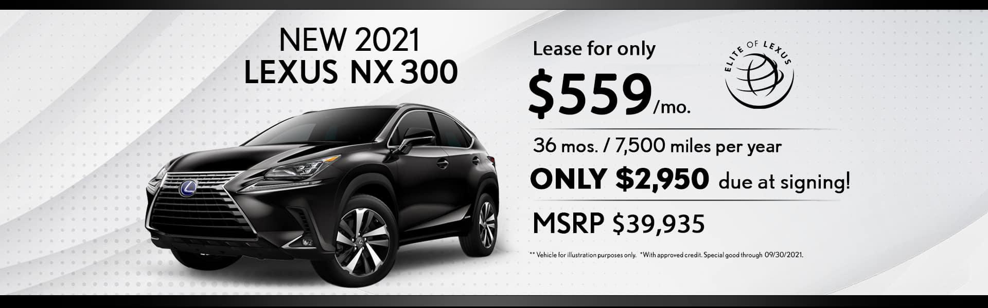 Lexus Lease special NX 300