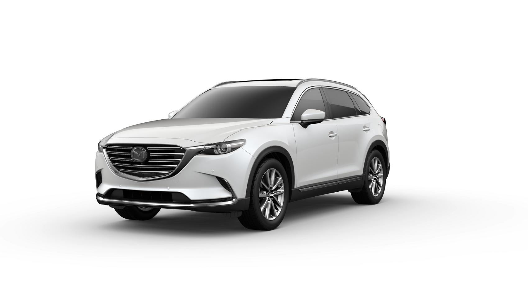 2019 Mazda CX9 Snowflake White Pearl