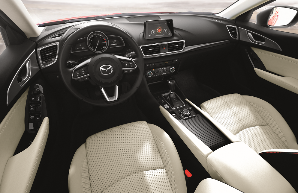 Mazda3 Interior Technology