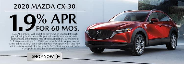 New 2020 Mazda CX-30