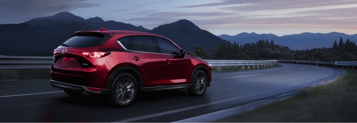 2021 Mazda CX-5 Red Highway