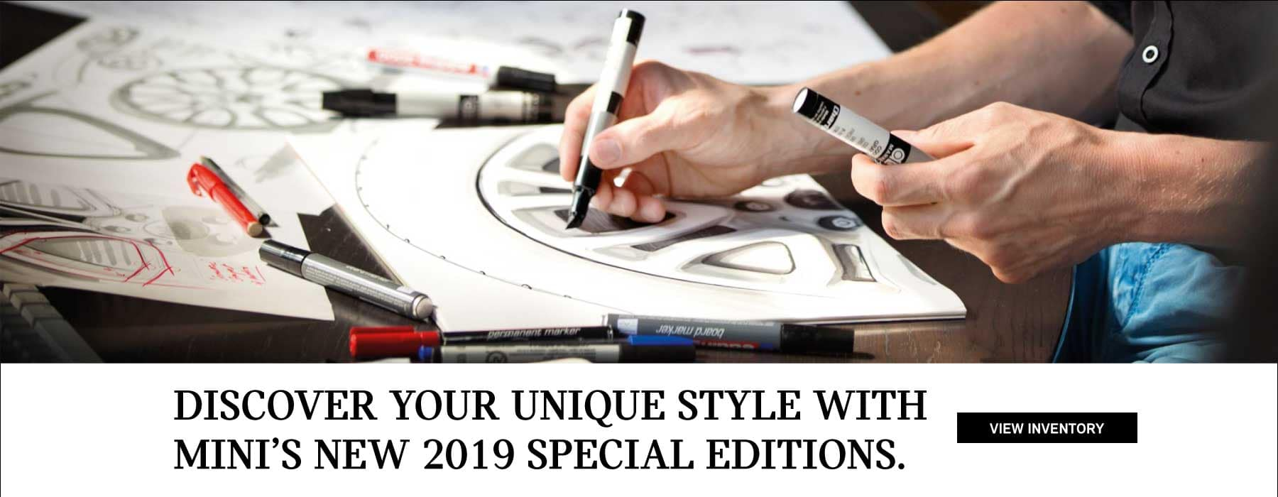 Discover your unique style with MINIs special editions.