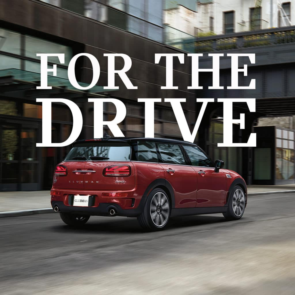 3.49% APR AVAILABLE ON 48 TO 72 MONTH LOANS ON ALL NEW MINI COOPER MODELS.