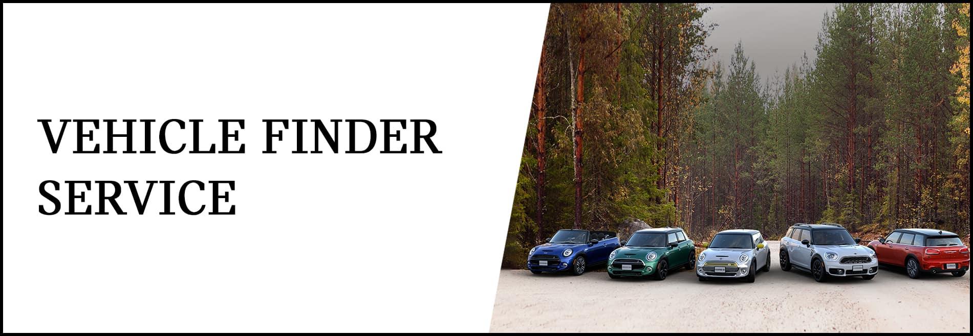 Vehicle Finder Service at Patrick MINI