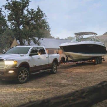 2020 Ram 2500 Towing Boat