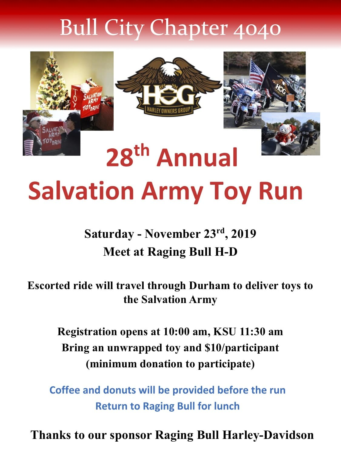 2019 HOG Toy Run (1)