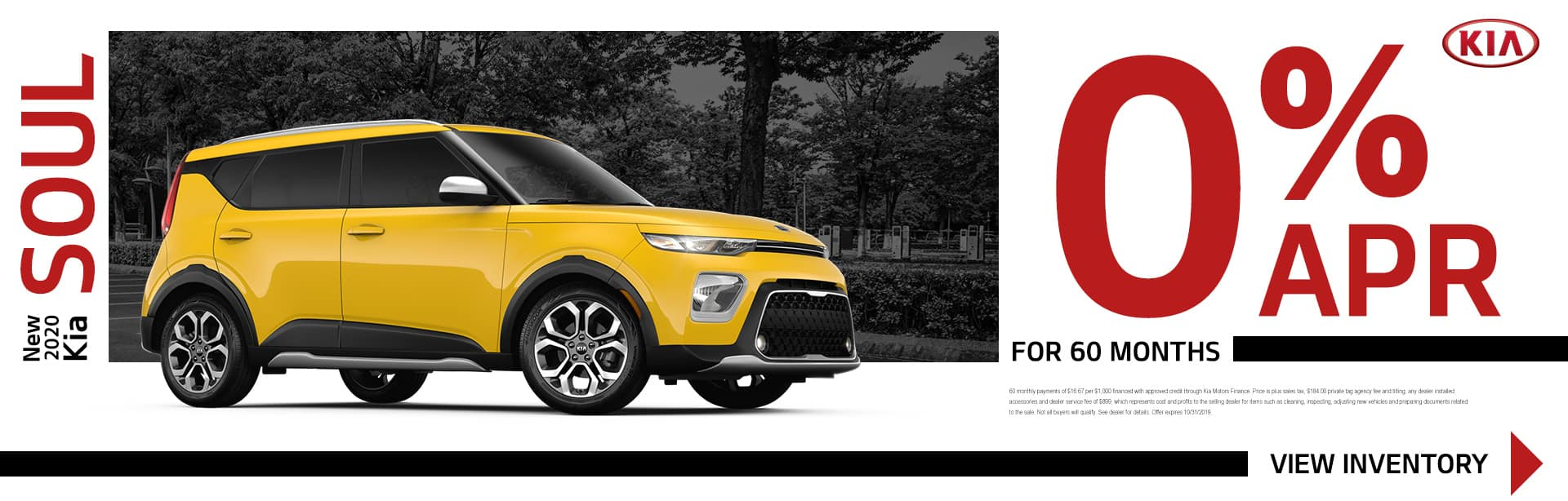 New 2020 Kia Soul | 0% APR For 60 Months