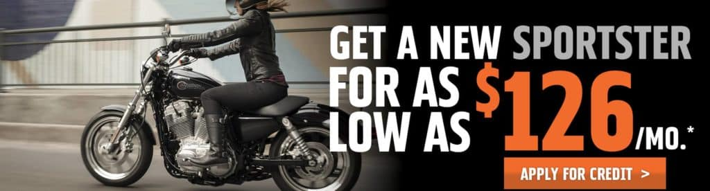 Get A New Sportster