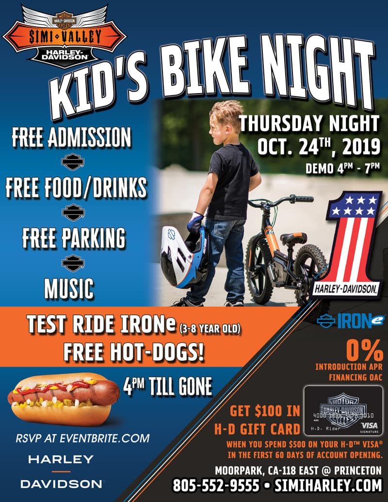 Kids Bike Night