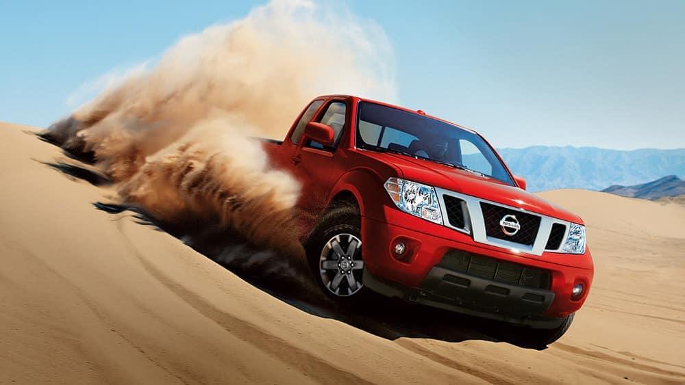 2019 Nissan Frontier In The Desert