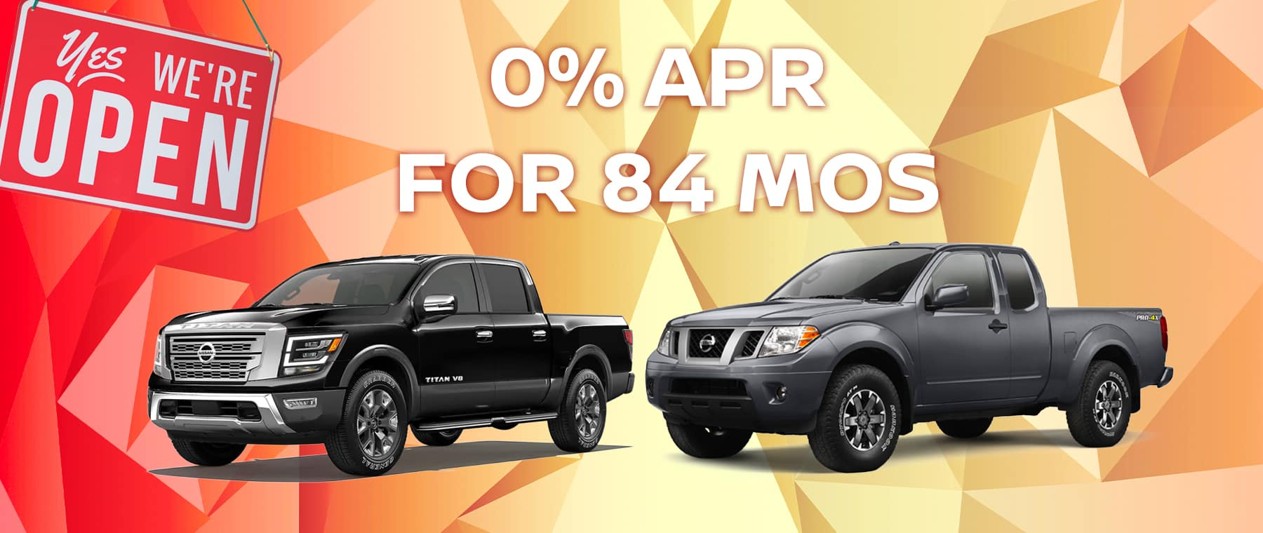 0% APR for 84 mos