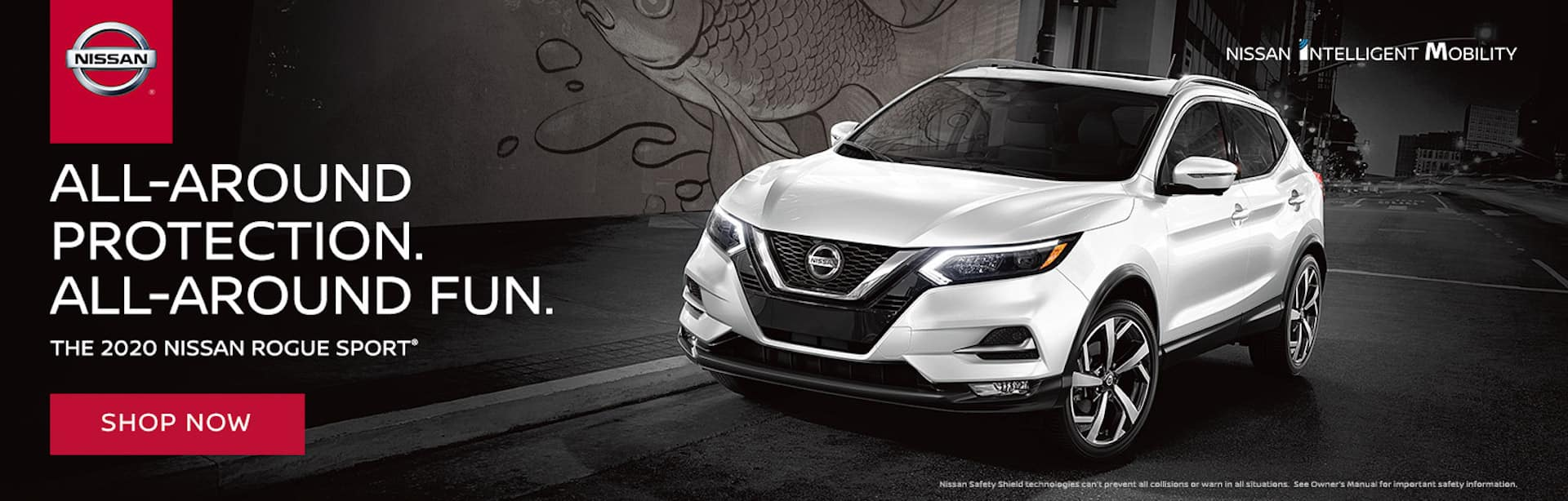 All Around Protection All Around Fun. 2020 Nissan Rogue Sport