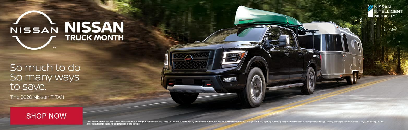 Nissan Truck Month So muc to do So many ways to save The 2020 Nissan TITAN