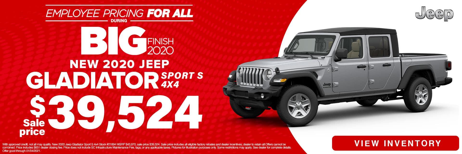 SLCJ-December 2020-2020 Jeep Gladiator
