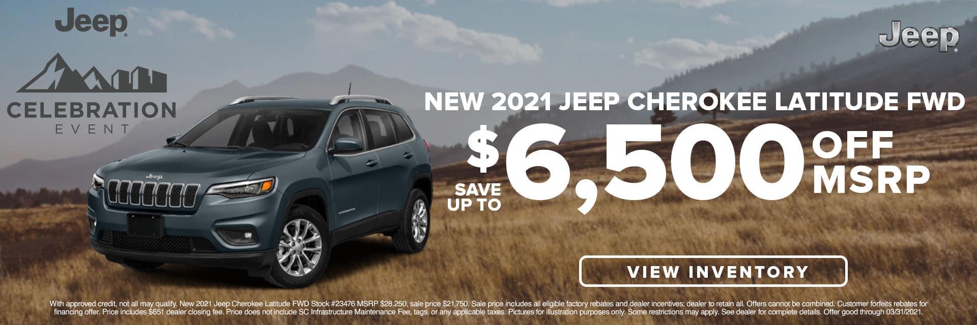 SLCJ-March 2021-2021 Jeep Cherokee