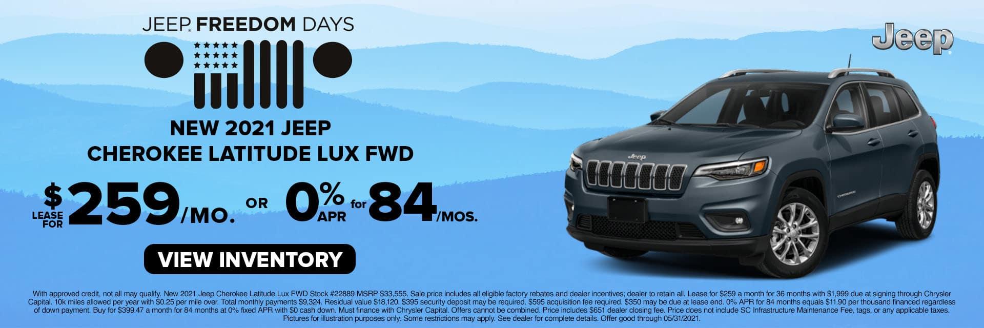 SLCJ-May 2021-2021 Jeep Cherokee