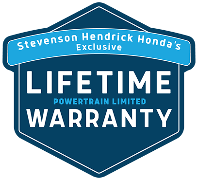 Stevenson Hendrick Honda Lifetime Powertrain Limited Warranty