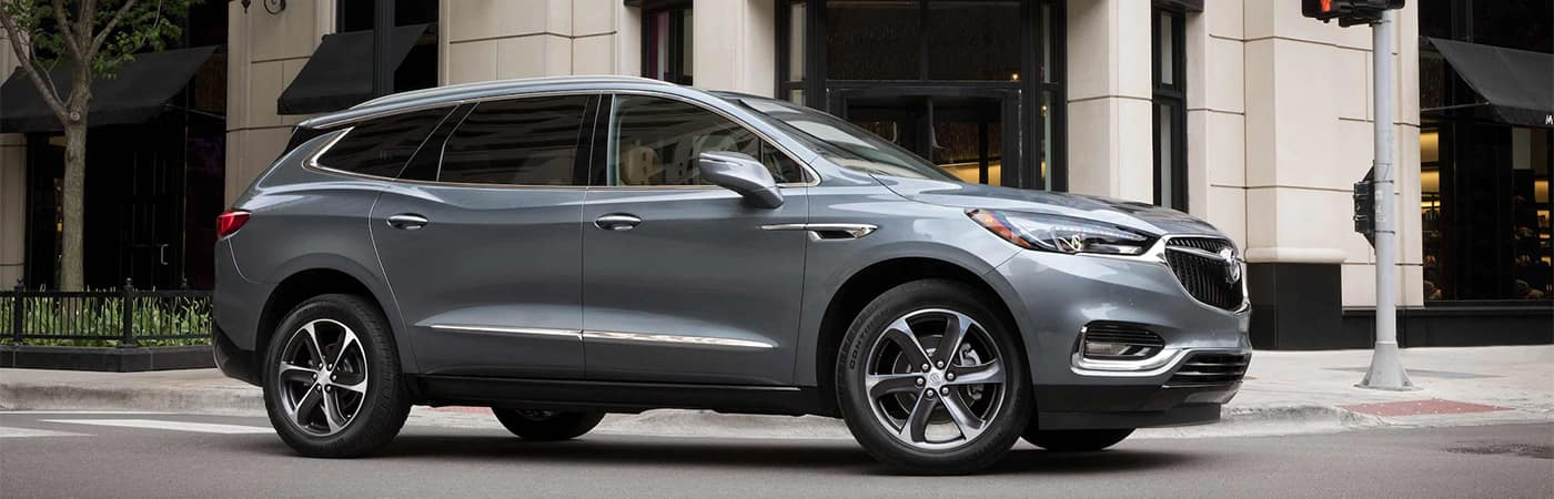 Buick Enclave Driving