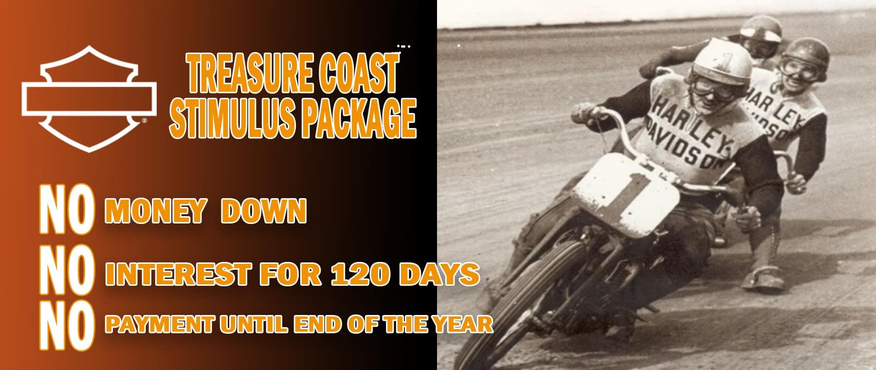 Treasure Coast Harley-Davidson Stimulus Package in Stuart FL