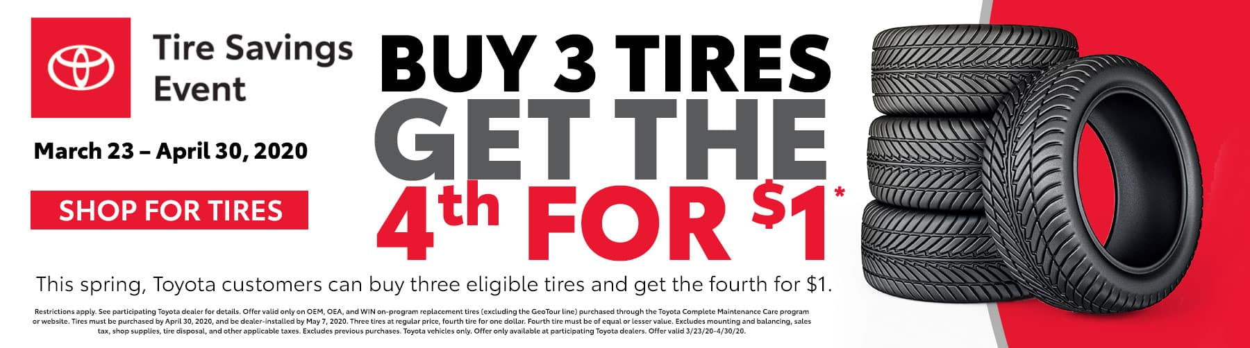 Tire Savings Event at Tuscaloosa Toyota in Tuscaloosa, AL