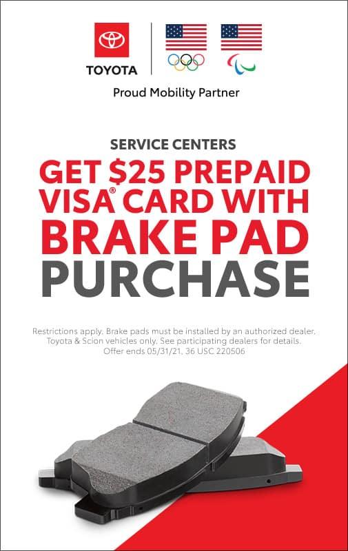 Brake Savings Event at Tuscaloosa Toyota!