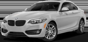 White BMW 2 Series