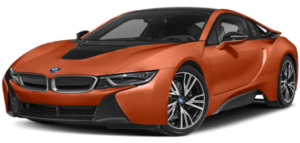 Orange BMW i Series