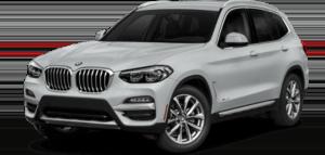White BMW X Series