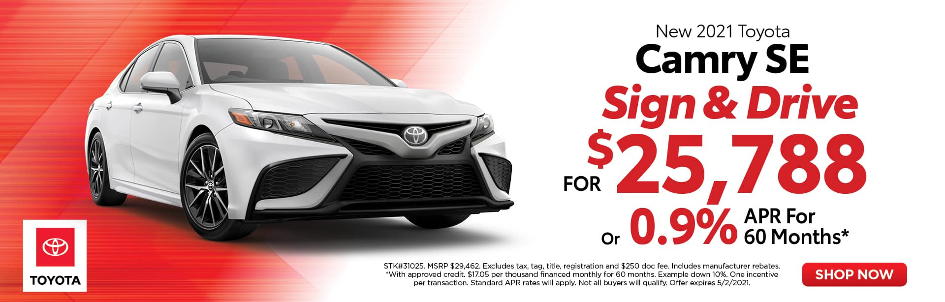 Camry Sign & Drive