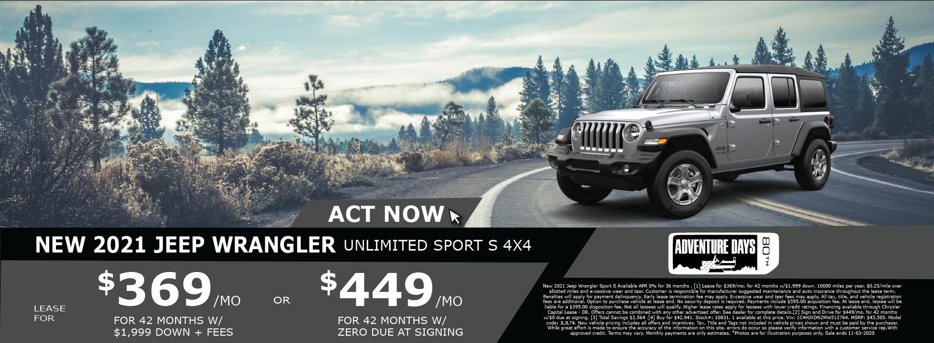 Whitewater – Jeep Wrangler October