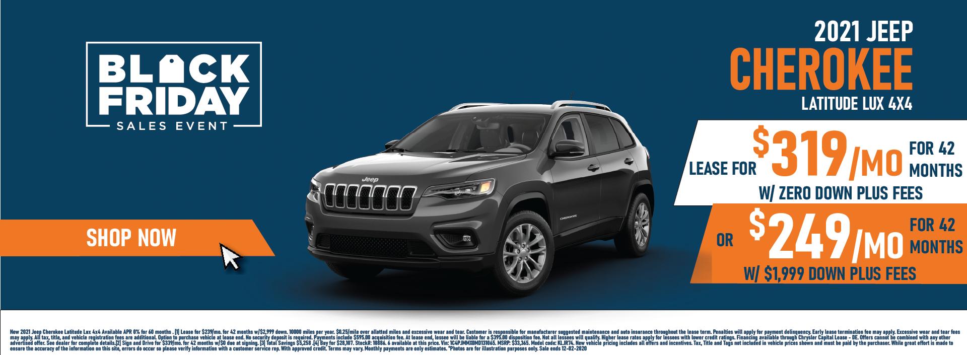Whitewater – Jeep Cherokee November Updated Again