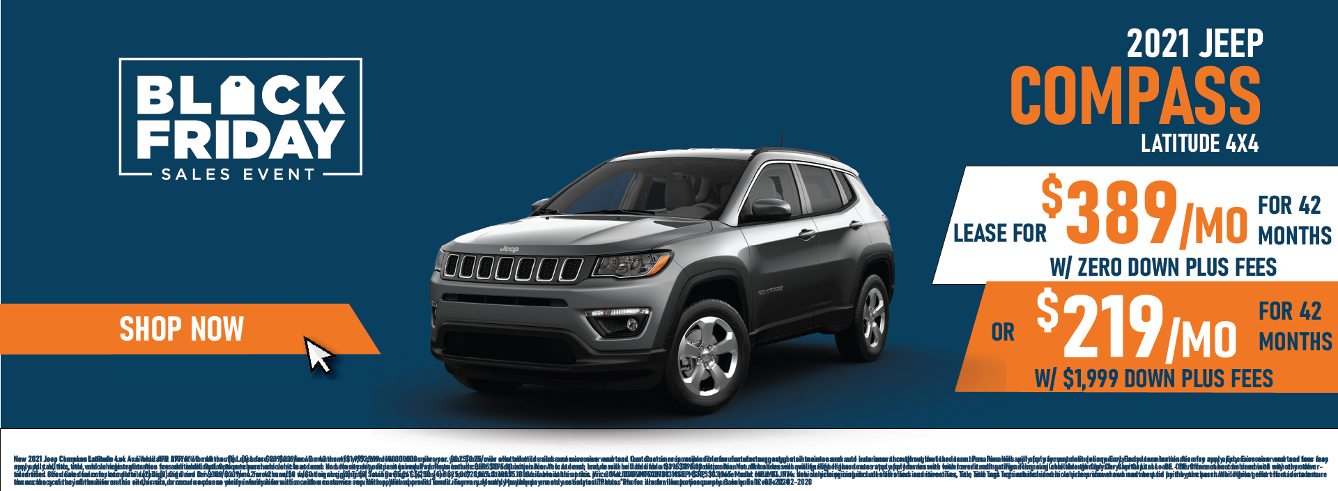 Whitewater – Jeep Compass November Updated Again