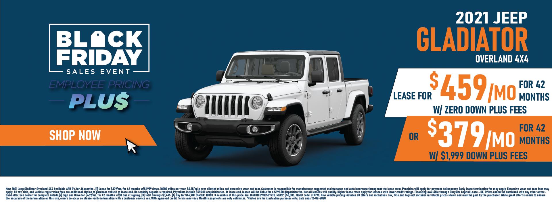Whitewater – Jeep Gladiator November Updated