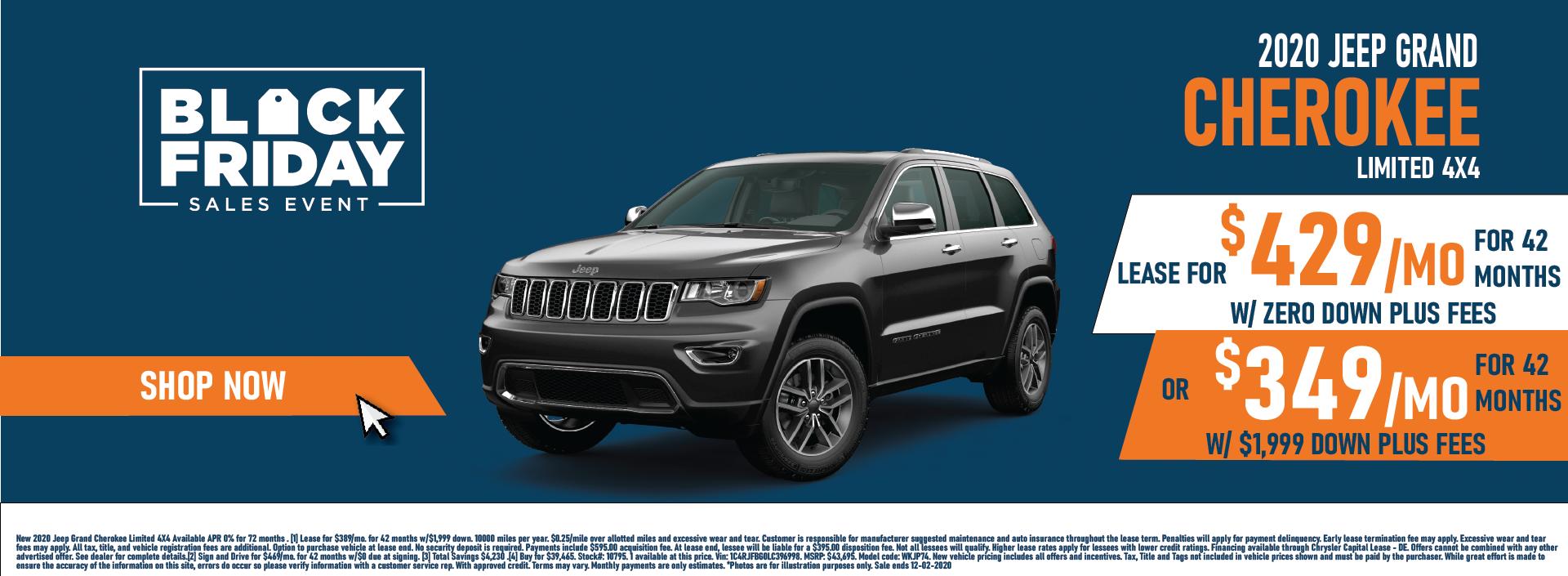 Whitewater – Jeep Grand Cherokee November Updated Again